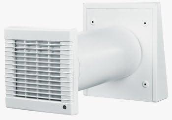 Turbo Dezentrale Wohnraumlüftung zum Nachrüsten, mit Wärmerückgewinnung IW06