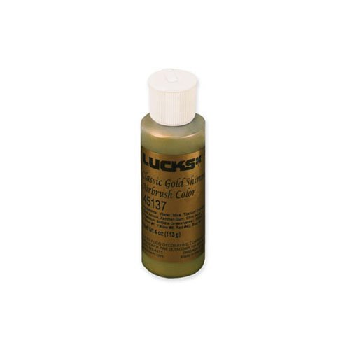 Pastry Cheftools (Lucks Classic Gold Shimmer Airbrush Color, 4 oz.)