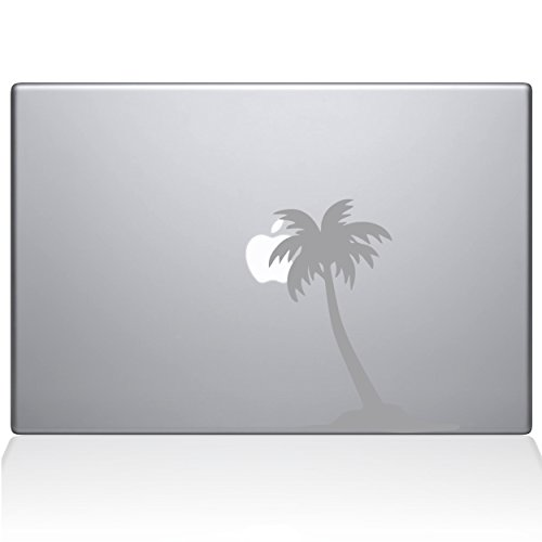 "The Decal Guru Palm Tree Decal Vinyl Sticker, 13"" MacBook Ai"