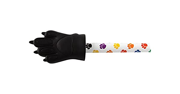 Amazon.com: Teacher Created Recursos Colorful Paw Prints Paw ...