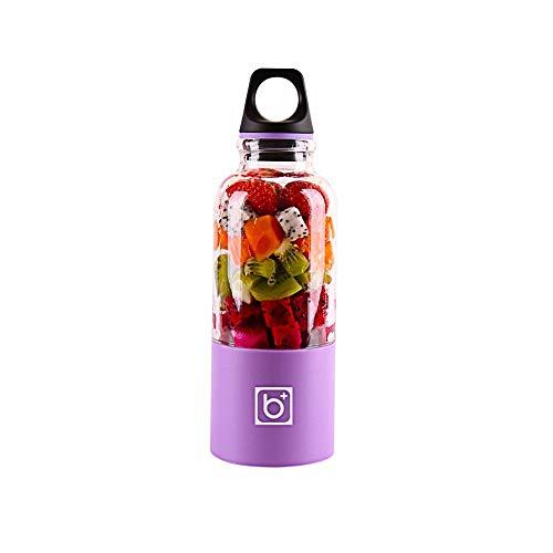 Gano Zen 500ml Electric Juicer Cup -Mini Portable USB Rechargeable Juicer Blender - Maker Shaker Squeezers Fruit Orange Juice Extractor by Gano Zen (Image #2)