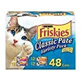 #1 Friskies Original Loaf Variety Pack Canned Cat Food (48/5.5-oz cans), My Pet Supplies