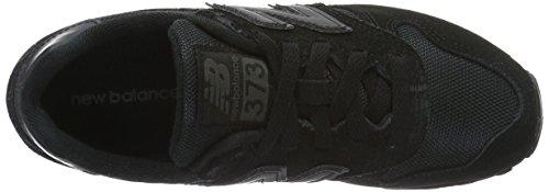 New Balance M373ckk, Sneakers Basses Mixte Adulte Schwarz (Black 001)
