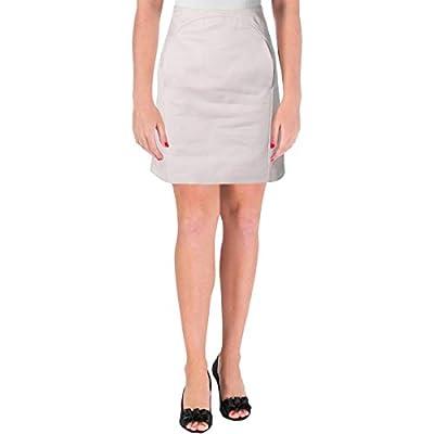 Jil Sander Navy Womens Pocket Casual A-Line Skirt
