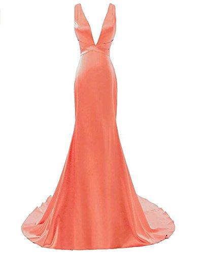 KA Kleid Beauty Damen KA Damen Kleid Korallenrot Beauty KA Korallenrot q68STwxt
