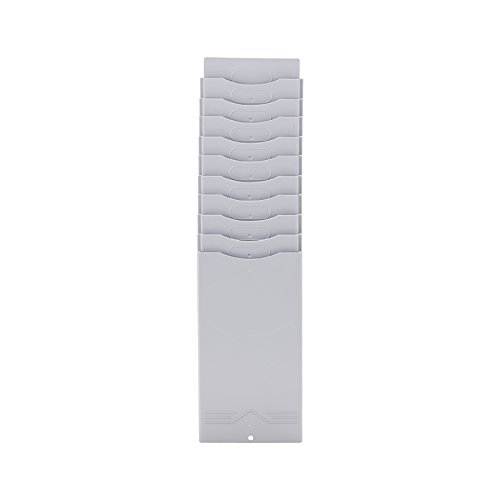 CO-Z Time Card Rack 10 Slots for Punch Clock, Plastic by CO-Z