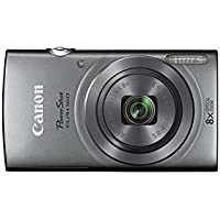Canon PowerShot ELPH 160 20.0 MP Digital Camera with 8X optical zoom, 720P Video and 2.7 Inch LCD (Silver)(Certified Refurbished)