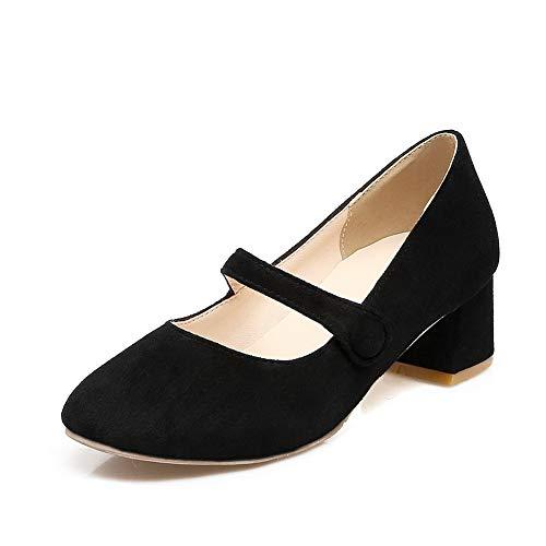 Noir Sandales Compensées Femme 36 Noir BalaMasa 5 APL10556 EU FUWRS