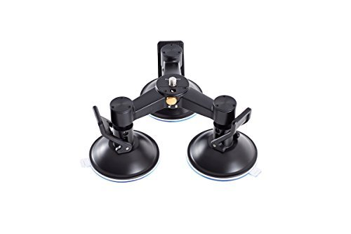 DJI Triple Mount Suction Cup Base for OSMO Handheld 4K Camera and 3-Axis Gimbal by Ofeely