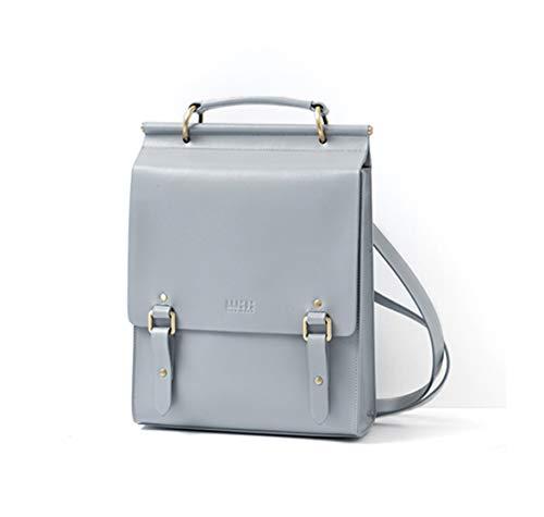 e66e6ce10256 AUMI 4 Genuine Leather Backpack for Women Casual 13
