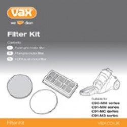 Kit di 3 Filtri Accessori per aspirapolvere C91-MM-HF Vax 1-9-128606-00