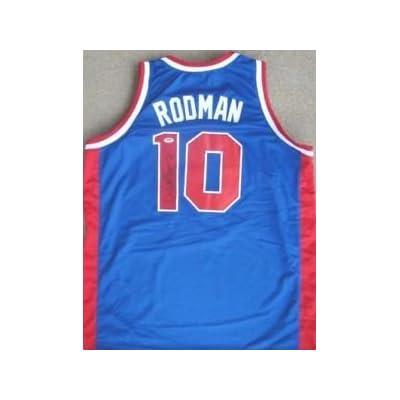 huge discount b02b0 655d6 Dennis Rodman Signed Detroit Pistons Auth Jersey PSA/DNA ...