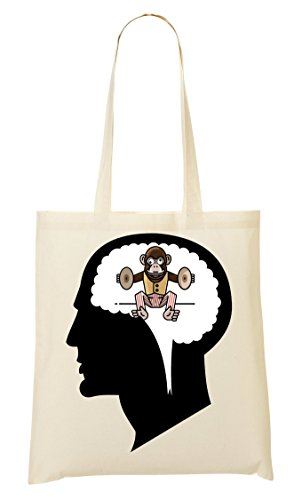 Provisions Sac Fourre À Human CP Monkeying Around Brain Funny Tout Sac Pq4qvx