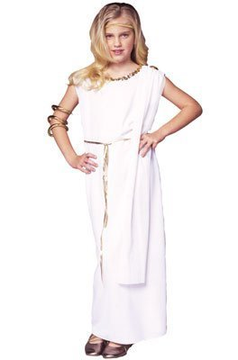 RG Costumes Athena Costume, Child Medium/Size 8-10 -