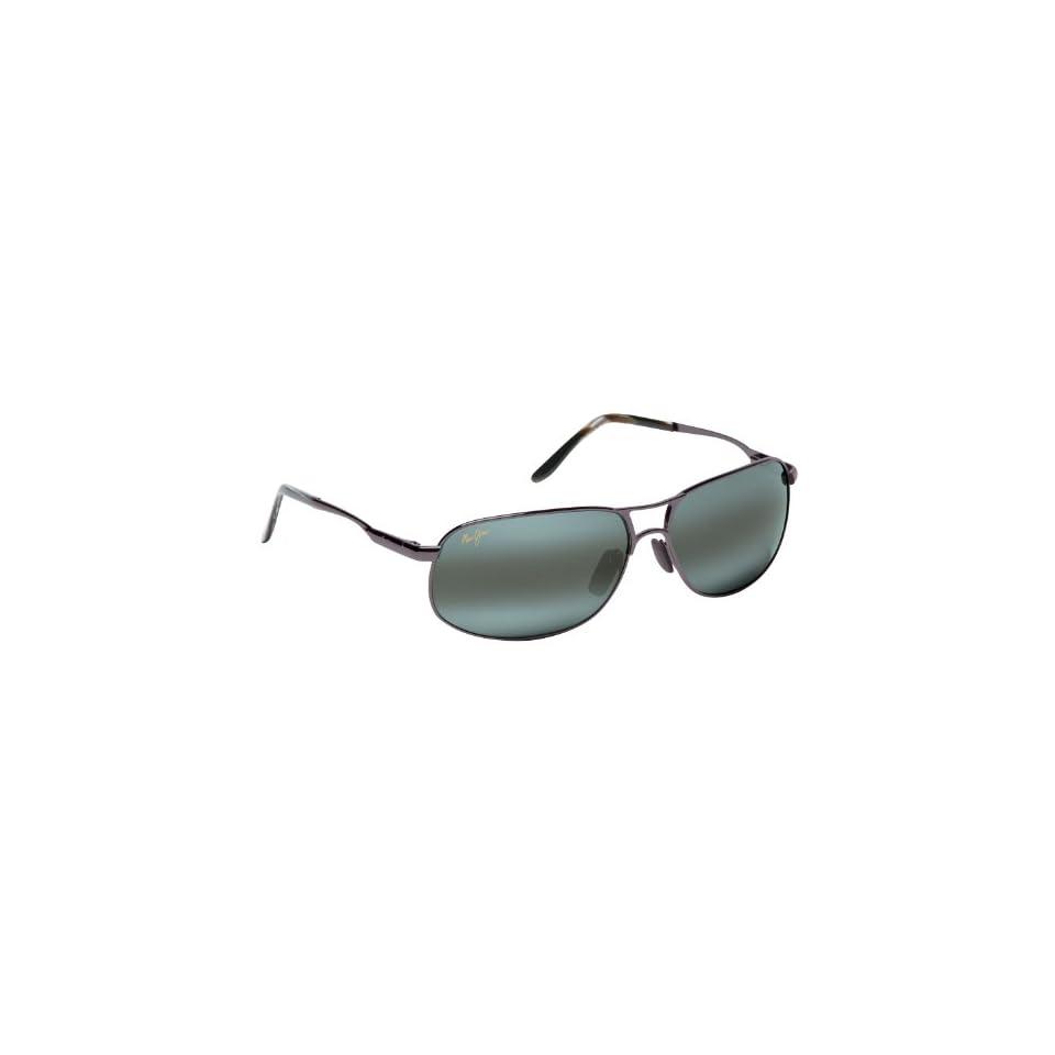 com Maui Jim Bayfront 205 Sunglasses, Pewter / Grey Lens, Sunglasses