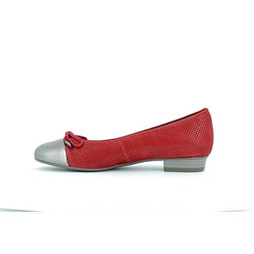 ara Bari - Bailarinas para mujer Rojo