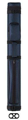 2/2 Oval Hard Pool Cue Case Color: Blue