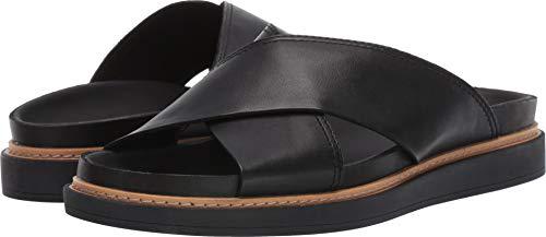 CLARKS Women's Trace Drift Black Leather 8.5 B US ()
