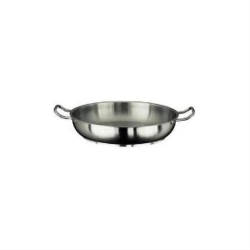 - Paderno World Cuisine 17.75 Inch Stainless Steel Paella Pan