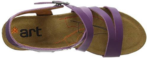 Violet Unisex violet De Derby Zapatos Morado Skyline Cordones Art 67qfCx