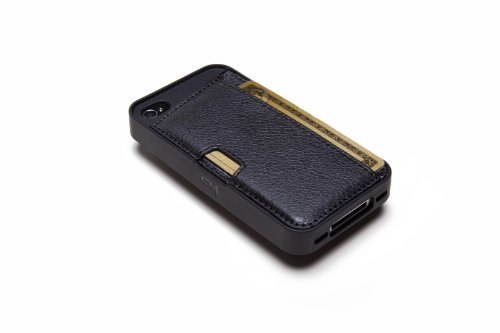 Silk iPhone 4/4S Wallet Case - Q CARD CASE [Slim Protective CM4 Cover] - Black Onyx by Silk (Image #7)
