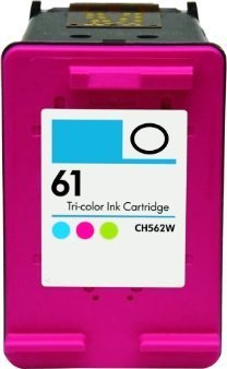 AZ Compatible with HP 61 (CH562WN) Tri-Color Ink Cartridge for DeskJet 1000, DeskJet 1000CSE, DeskJet 1000CXI, DeskJet 1010, DeskJet 1011, DeskJet 1012, DeskJet 1015, DeskJet 1050, DeskJet 1051