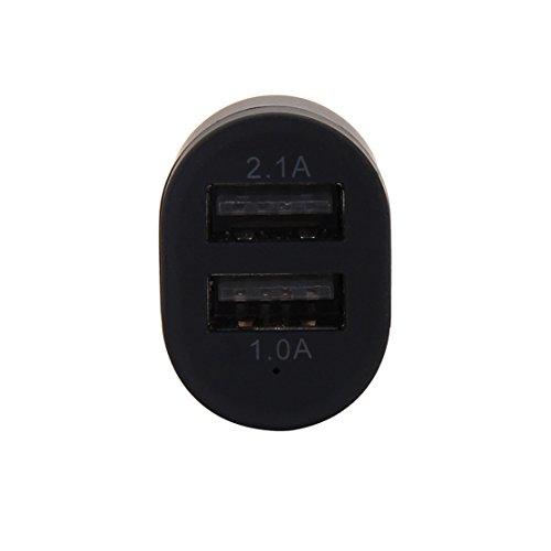 2-port USB Universal Car Charger 12V Lighter Socket (Silver) - 4