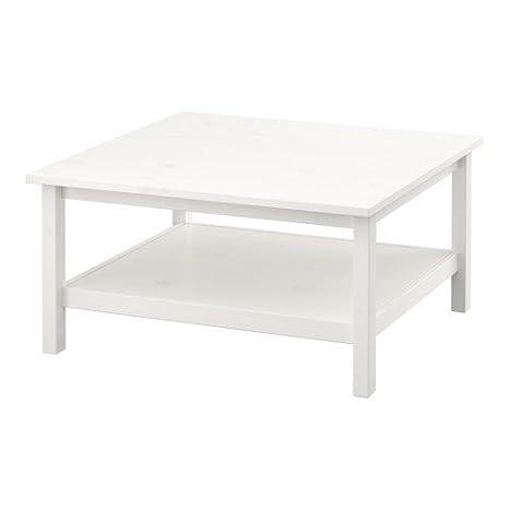 Ikea HEMNES Tavolino da caffè, colore: bianco verniciato, colore ...