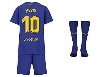 best loved 0d085 9856f FC Barcelona Messi Trikot Kinder Home 18/19 - Trikotsatz ...