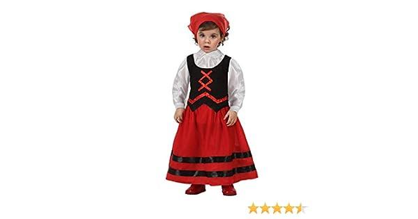 Atosa-32140 Atosa-32140-Disfraz Pastora niña bebé-Talla Navidad ...