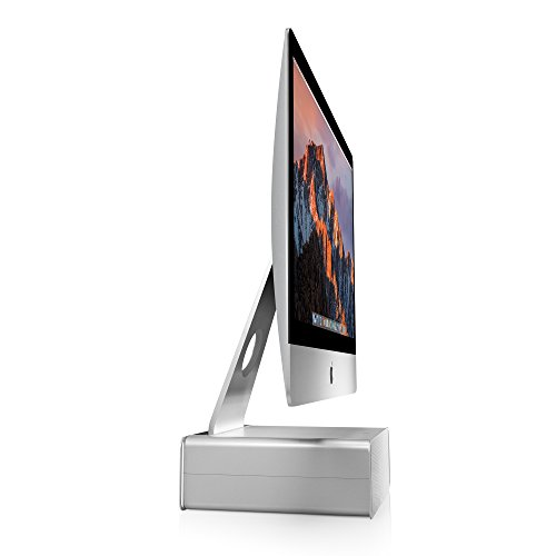 Twelve South HiRise for iMac | Height-adjustable stand with