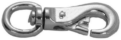 Apex Tools Group T7601801 7/8-Inch Zinc Round Eye Animal Snap - Quantity 10