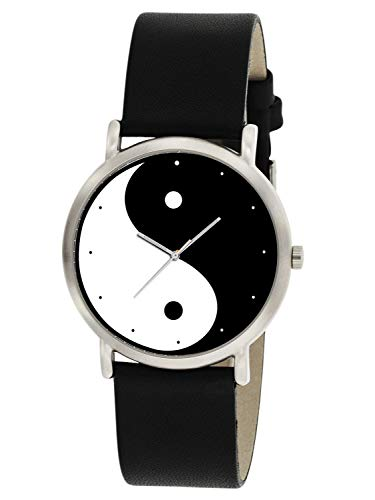 YANG MINIMALIST ART COLLECTIBLE 30 mm UNISEX WRIST WATCH ()