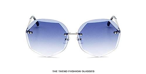 Gafas ligero Mujer Espejo Sol Fliegend Ultra Sol Gafas Exteriores Azul para Estuche Gafas A de Sol de de Polarizadas Hombre Hexágono Coloridas Unisex Gafas UV400 de Lente xqgUgYwR
