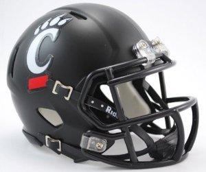 - Cincinnati Bearcats Helmet Riddell Replica Mini Speed Style