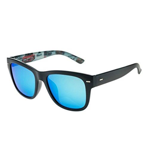 Dama manejando Marco Conducir Blue KOMNY Grande Gafas polarizadas Sol Ice de Gafas Sol Azul Hombre Gafas Profundo de 7q7P8zw