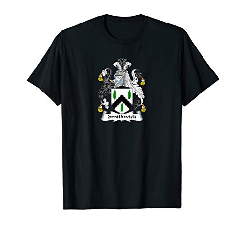 - Smithwick Coat of Arms - Family Crest Shirt