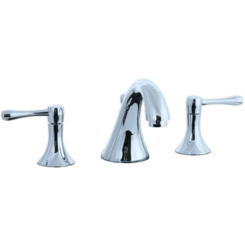 Cifial 244.110.625 Brookhaven 3-Hole Widespread Lavatory Faucet, Polished Chrome ()