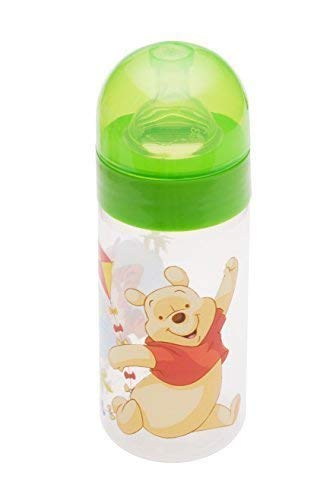bebé Botella de cuello ancho 250 ml Disney Winnie Pooh verde botella ...
