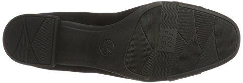 Negro Tacón 22304 Zapatos Black de Jana para Mujer cZYqzFnWn
