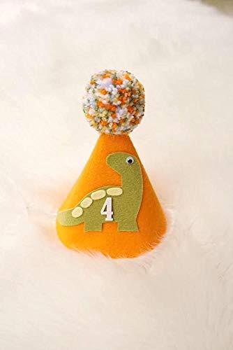 Dinosaur Hat - Dinosaur Birthday - Birthday Hat - First Birthday - Dinosaur Birthday Decoration - Boy Girl