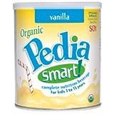 PediaSmart Nutrition Beverage - Soy - Vanilla - 12.7 oz - 6 pk