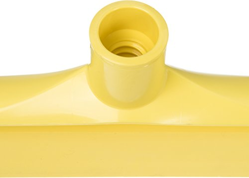 Carlisle 3656704 Solid One-Piece Foam Rubber Head Floor Squeegee, 20'' Length, Yellow (Case of 6) by Carlisle (Image #4)