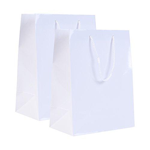 믿을 수없는 포장 - 13 x 5 x 10 소매 Euro Tote 쇼핑백 - 헤비 듀..