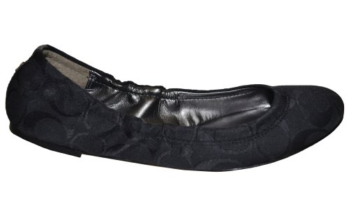 bb1b11c06 Coach Women's Aly Ballet Flat, Black, Size 5.5 - Buy Online in Oman. | Shoes  Products in Oman - See Prices, Reviews and Free Delivery in Muscat, Seeb,  ...