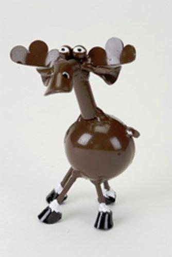 Yardbirds Junkyard Metal Animal Spoonies Moose Table Top - (Yardbirds Moose)