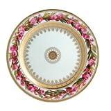 Ancienne Manufacture Royale Botanique Pecher a Fleurs Doubles Salad Plate
