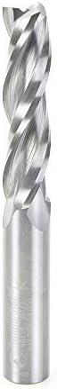 "Amana Tool - 46118 Solid Carbide Spiral Plunge 1/2 Dia x 2"" x 1/2 Shank Up-Cut, 3-Flut 31v3b6ZEsiL"