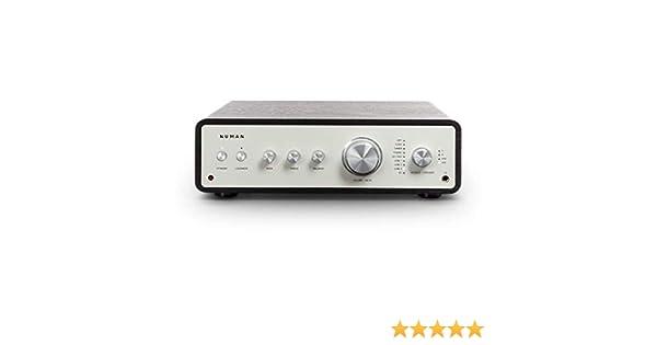 Numan Drive Amplificador estéreo Digital - Amplificador HiFi, Retro, 2 x 170 W / 4 x 85 W RMS, 5 x Line In, 2 or 4 x Altavoz Salida, 1 x Auriculares ...