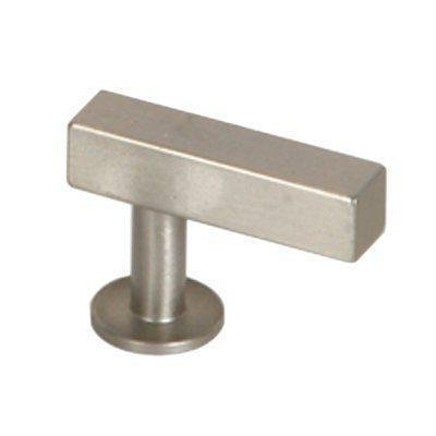 Lew's Hardware Bar Series - Brushed Nickel Cabinet Knobs and Pulls (T-Knob)